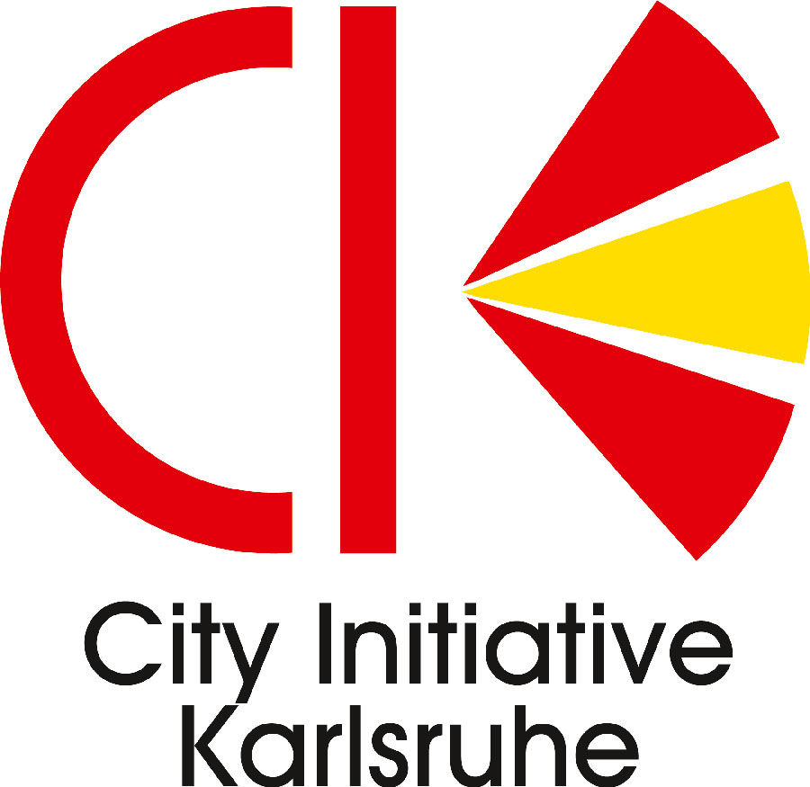 Logo der City Initiative Karlsruhe