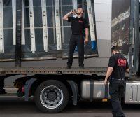 Bild: Logistik Speditionn Sicherheit des DESK SICHERHEITSDIENST KARLSRUH
