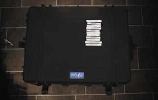 Videoüberwachung zum Mieten Koffer DESK SICHERHEIT